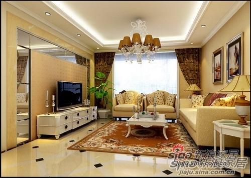 简约 三居 客厅图片来自用户2559456651在8万8打造甜蜜欧式3居室·温情家居13的分享