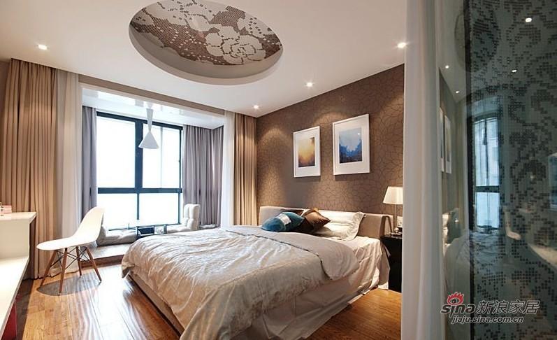 简约 二居 卧室图片来自用户2557010253在8万打造80平异域风情爱家23的分享