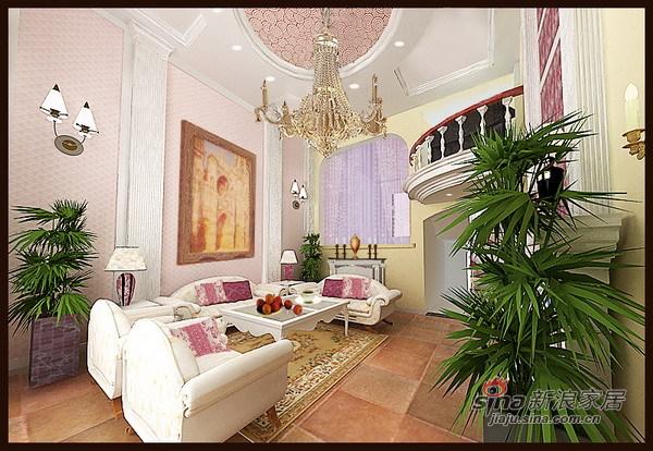 欧式 四居 客厅图片来自用户2772856065在香榭丽舍舒适简欧田园家16的分享
