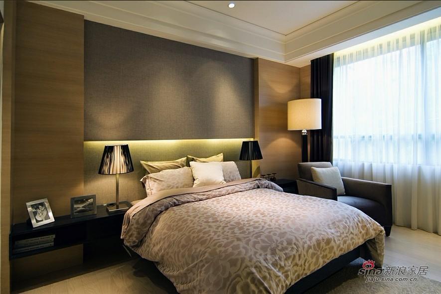 简约 三居 卧室图片来自用户2738829145在6.8万装117平静谧简约3居87的分享