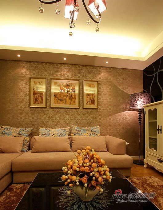 简约 二居 客厅图片来自用户2738820801在7.9万装88㎡时尚奢华2居29的分享