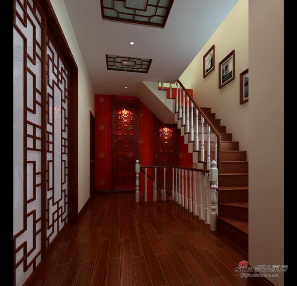 二层中式楼梯设计
