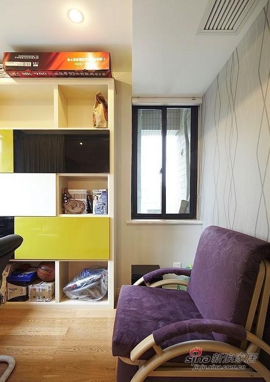 简约 三居 书房图片来自用户2737759857在160平方俏皮有爱大宅20的分享