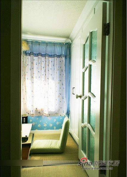 田园 二居 卧室图片来自用户2737791853在6万软装90平田园清新小窝81的分享