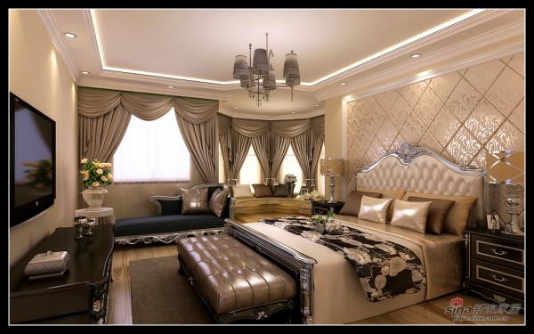 恒大绿洲-卧室效果图