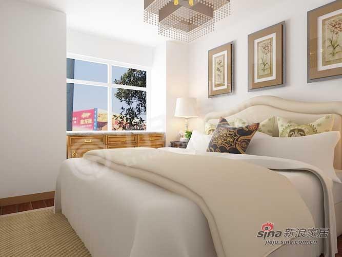 简约 三居 卧室图片来自阳光力天装饰在中国铁建国际城-89㎡38的分享