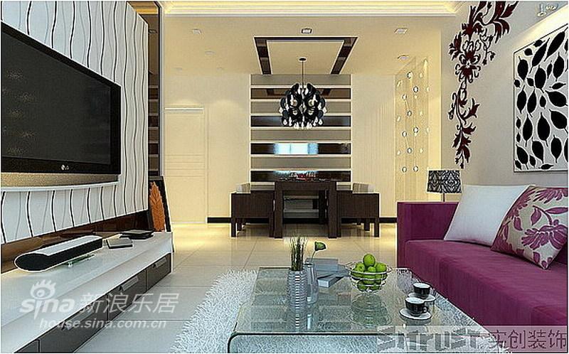 简约 二居 餐厅图片来自用户2739153147在实创装饰旗胜家园案例39的分享
