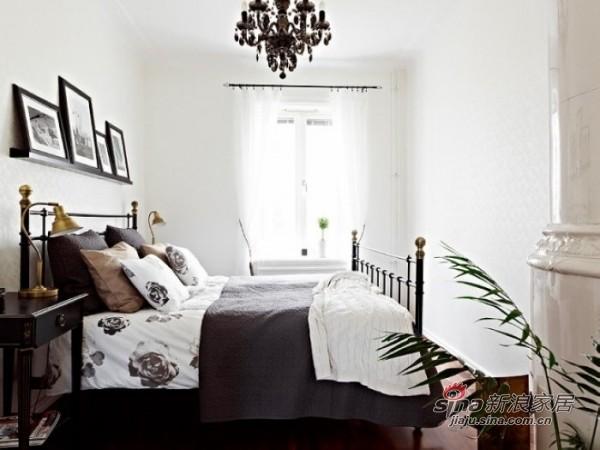 71平米 黑白花色欧式公寓