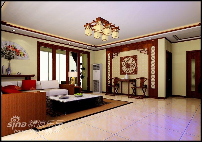 中式 复式 客厅图片来自用户2748509701在中式风情31的分享