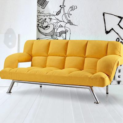 黄色沙发是客厅最好的点缀!
