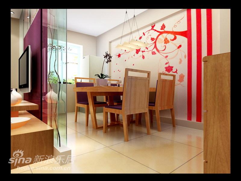 简约 二居 餐厅图片来自用户2739081033在简约温馨 90平时尚高雅的生活格调18的分享
