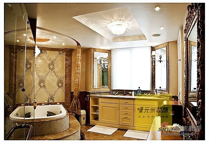 欧式 三居 卫生间图片来自用户2746889121在奢华欧式元洲装饰案例84的分享