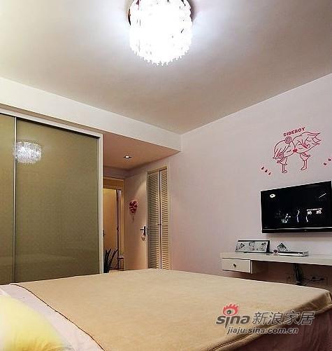 简约 三居 卧室图片来自用户2738093703在6万装好我的100平3室1厅94的分享