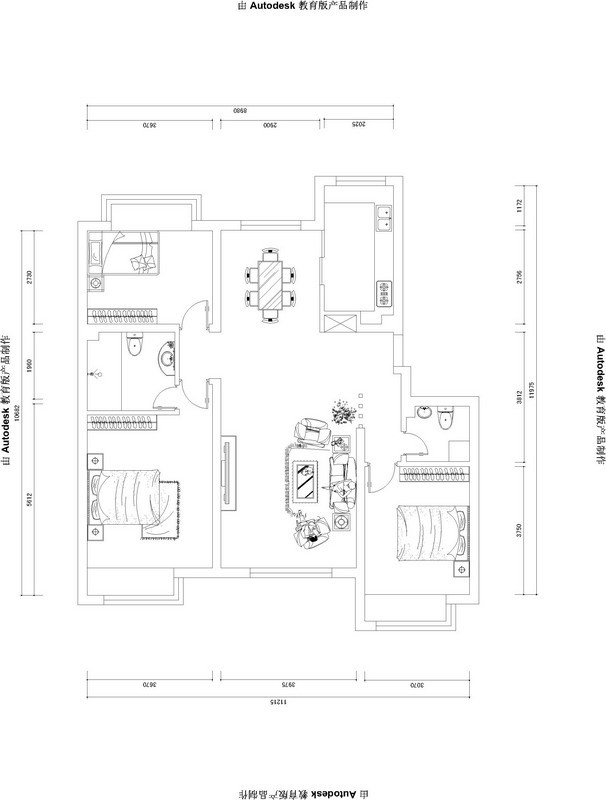简约 三居 客厅图片来自用户2737786973在生夏如花的简约家67的分享