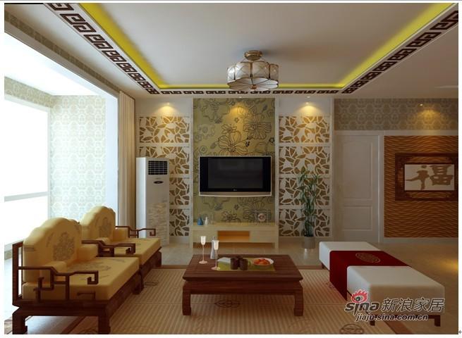 中式 三居 客厅图片来自用户1907661335在灵动27的分享