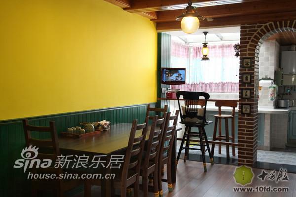 餐厅的设计主要体现在一些细节上