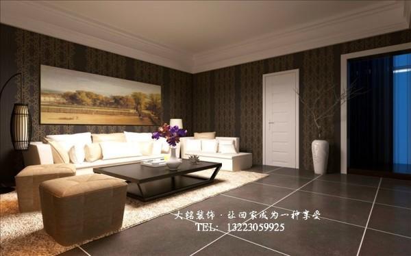 简约风格家庭装修效果图-客厅设计效果图