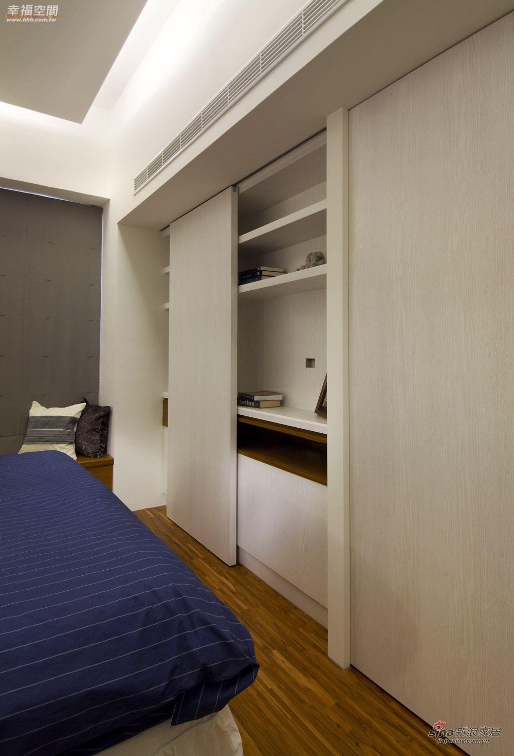 北欧 二居 卧室图片来自幸福空间在在北欧简约中混搭德式精工时尚风情41的分享