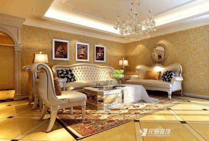 欧式 三居 客厅图片来自用户2746869241在领秀慧谷200平欧式设计装修实景图47的分享