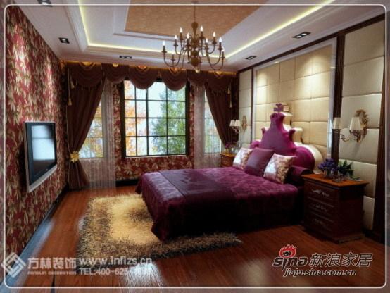 欧式 四居 卧室图片来自用户2557013183在150平欧式系列之古典的华贵气质61的分享
