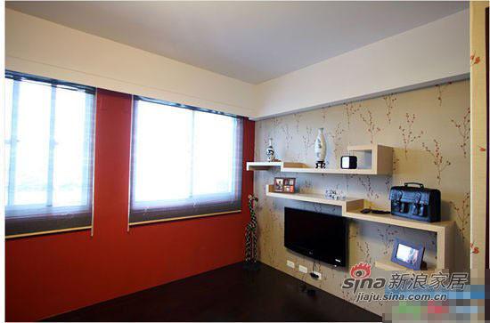 简约 三居 客厅图片来自用户2737782783在5万精心装修95平简约宜家风格美家16的分享