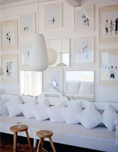 白色素雅客厅#