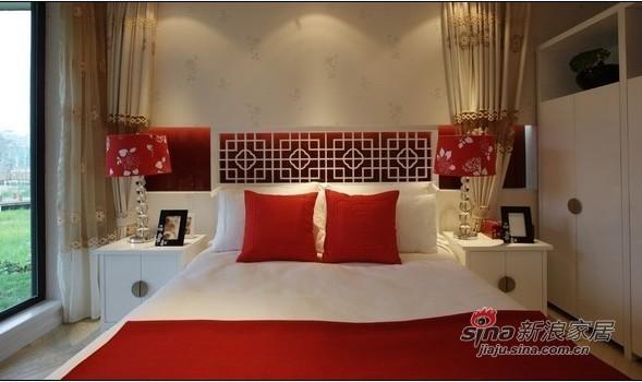 中式 三居 客厅图片来自用户1907696363在80后小夫妻新中式婚房设计14的分享