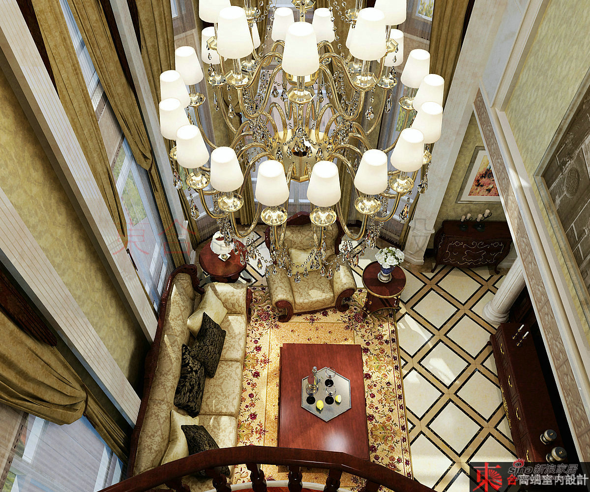 欧式 别墅 客厅图片来自用户2745758987在【高清】200平典雅欧式风情42的分享