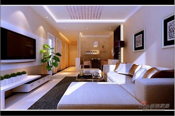 简约两室客厅设计
