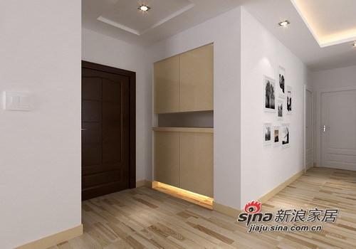 简约 一居 玄关图片来自用户2558728947在55㎡极致简约一居室设计53的分享