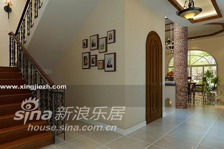 田园 别墅 楼梯图片来自用户2557006183在天马高尔夫77的分享