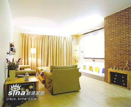 简约 三居 客厅图片来自用户2556216825在三室二厅的婚房实景48的分享