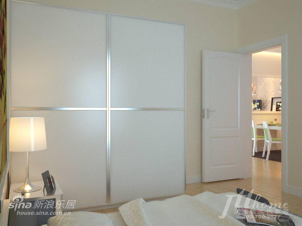 简约 三居 卧室图片来自用户2557979841在恬静淡雅的家居装饰风格40的分享
