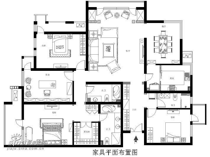 欧式 别墅 户型图图片来自用户2757317061在紫金长安29的分享