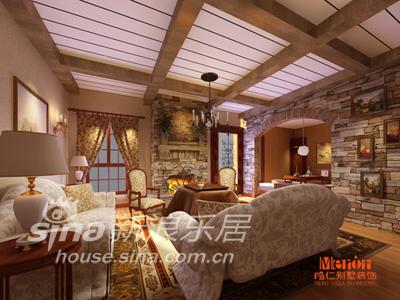 欧式 别墅 客厅图片来自用户2746889121在东方普罗旺斯95的分享