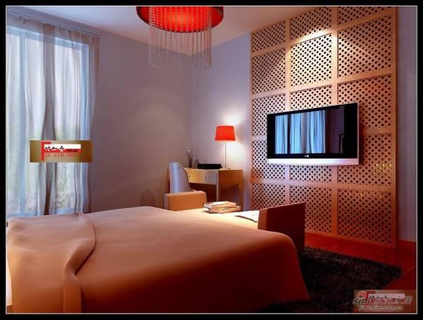 北京江山赋-卧室效果图