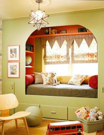 儿童房装修飘窗