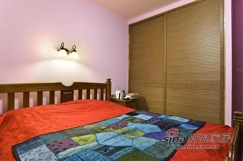 新古典 一居 卧室图片来自用户1907664341在低调简约古典三居33的分享