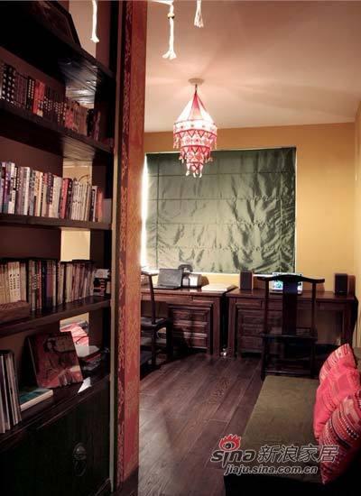 其他 一居 书房图片来自用户2558746857在75平东南亚风尽显雨林风范75的分享
