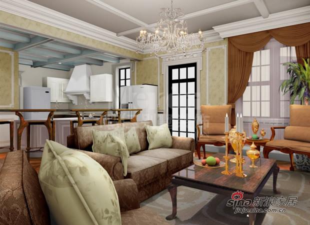 欧式 别墅 客厅图片来自用户2757317061在鸣仁别墅装饰  麦卡伦地23的分享