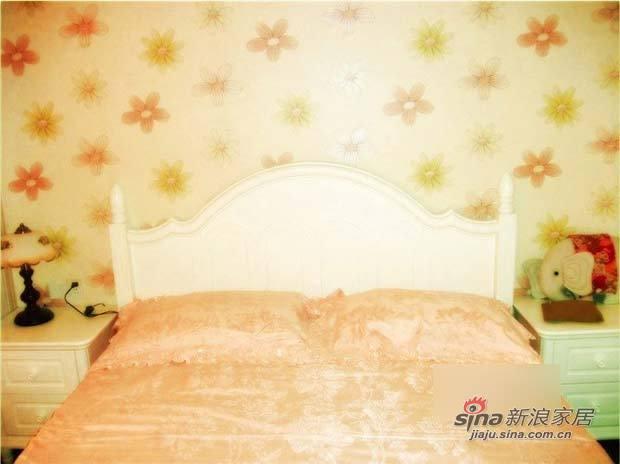 田园 二居 卧室图片来自用户2557006183在6万混搭85平田园乡村风小屋15的分享