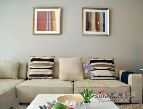 简约 二居 客厅图片来自用户2557979841在10万装133平简约甜蜜婚房93的分享