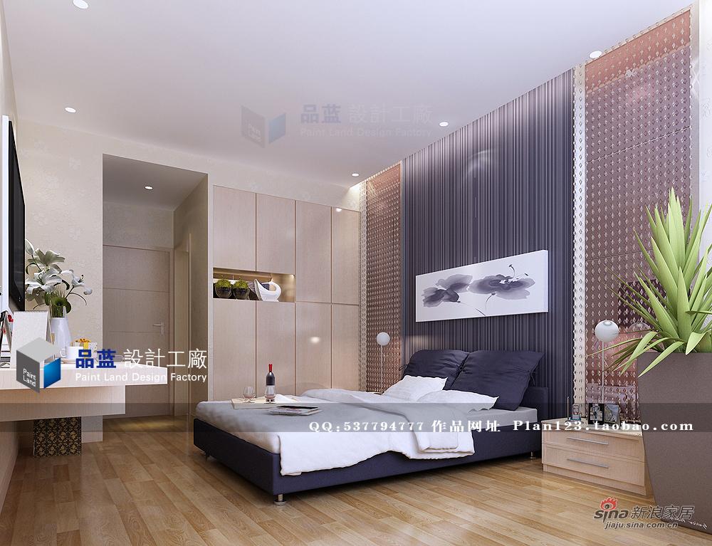 简约 三居 卧室图片来自用户2737759857在雅致空间130平设计57的分享