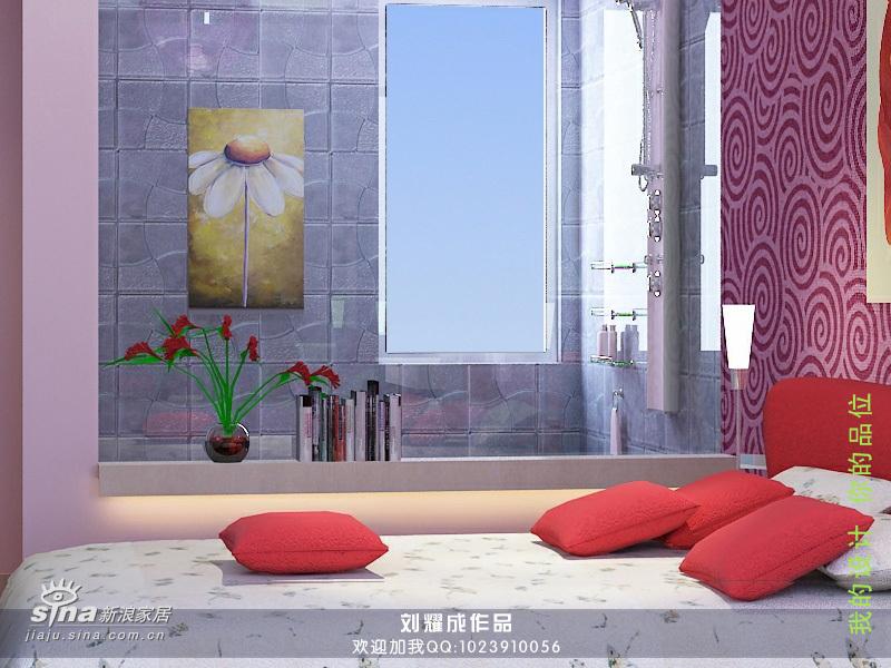 简约 三居 卧室图片来自用户2738829145在120平米时尚居室设计31的分享