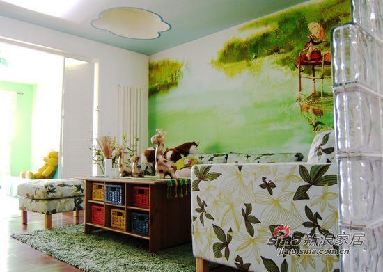 其他 跃层 客厅图片来自用户2558746857在通州别墅--东南亚风格61的分享