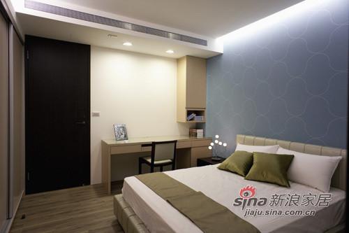 简约 二居 卧室图片来自用户2738813661在极具风格的简约家44的分享