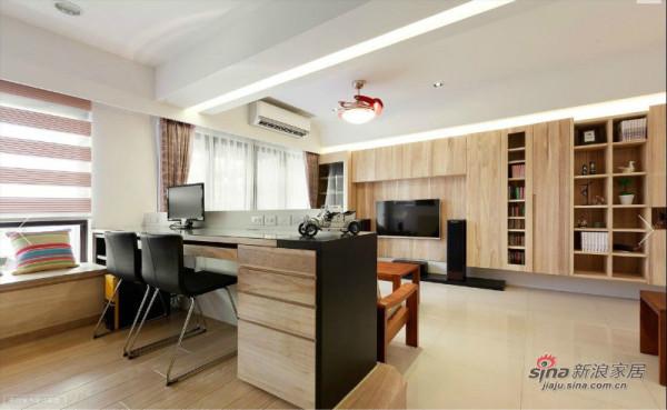 书房+客厅的设计