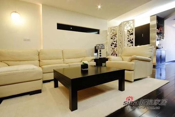 简约 一居 客厅图片来自用户2738093703在13万装127平时尚简约风87的分享