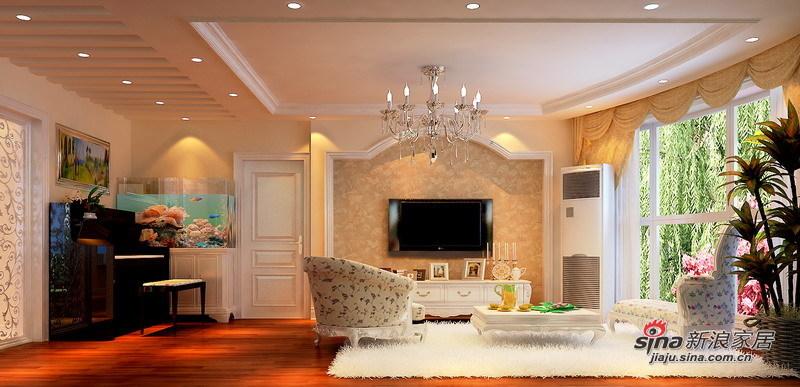 田园 三居 客厅图片来自用户2557006183在120㎡老房改造自然宜家田园风格3居室98的分享