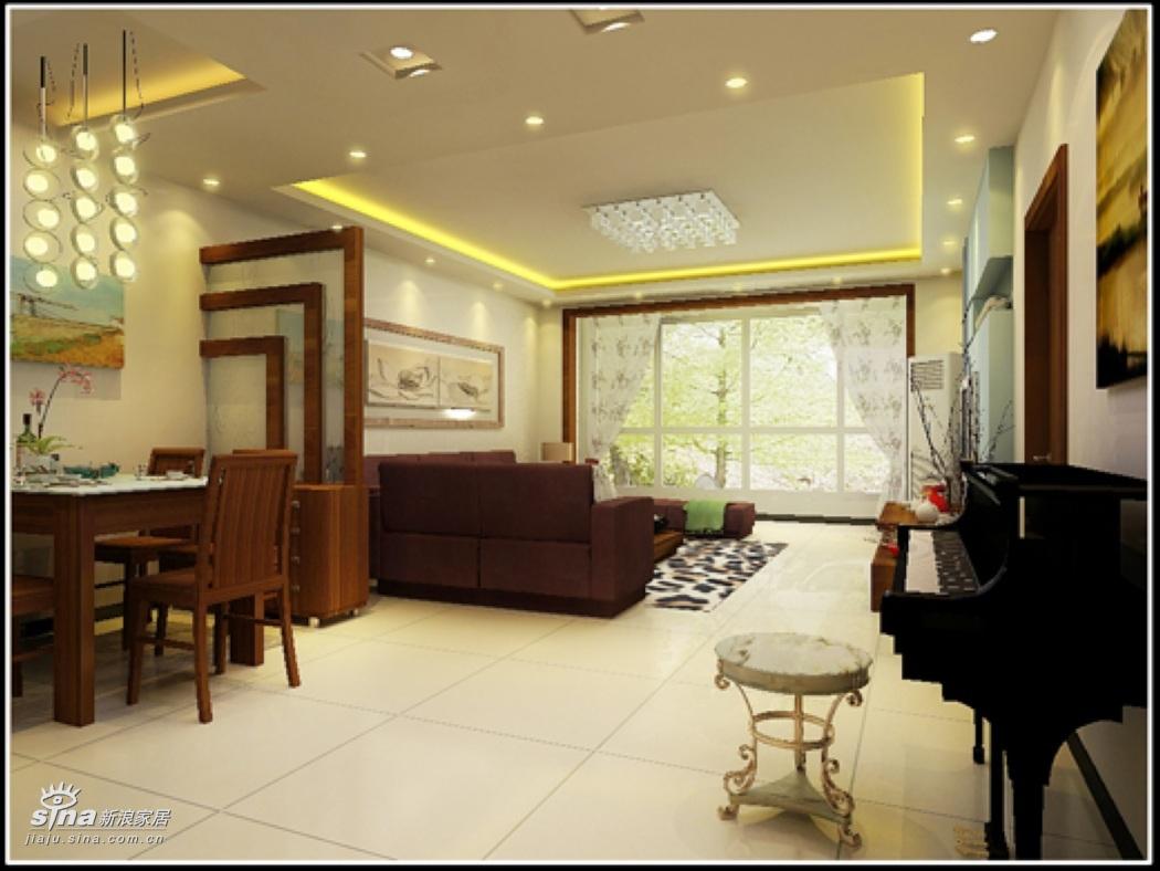 简约 三居 客厅图片来自用户2745807237在另一种风情91的分享